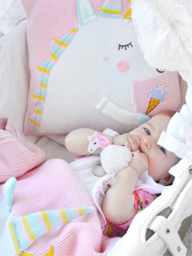 Unicorn Blanket (Pink)