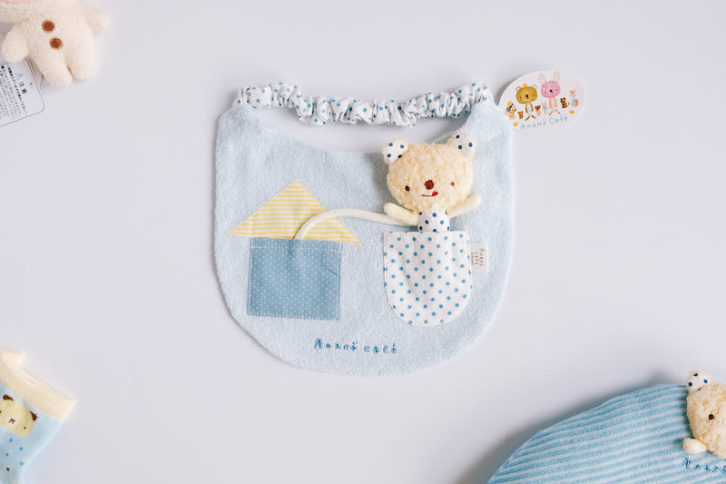 Bib with Toy (Japan-made)