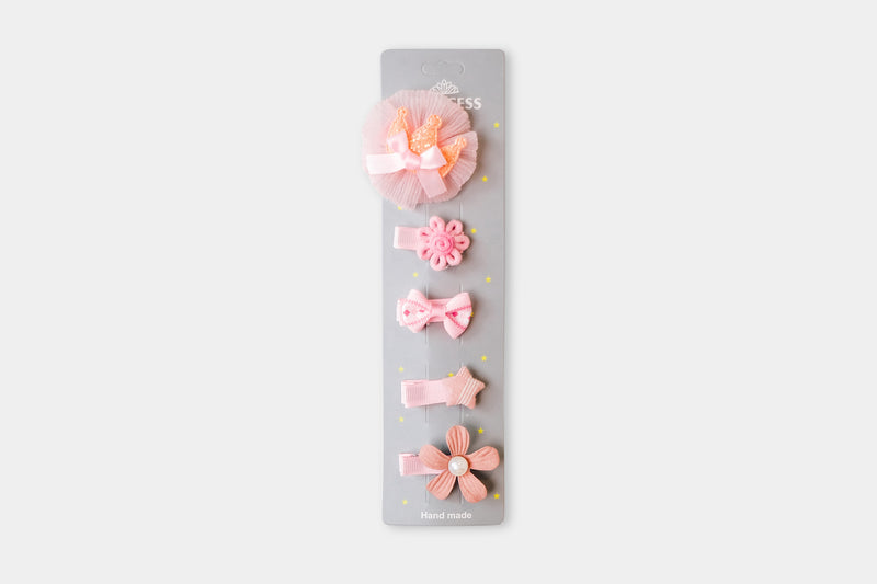Princess - Pink Hair Pins
