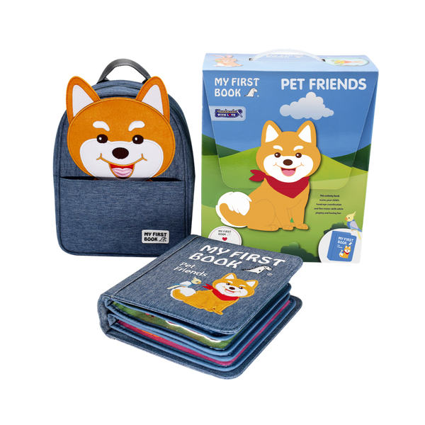 My First Book 10 -  Pet Friends (0-3Y)