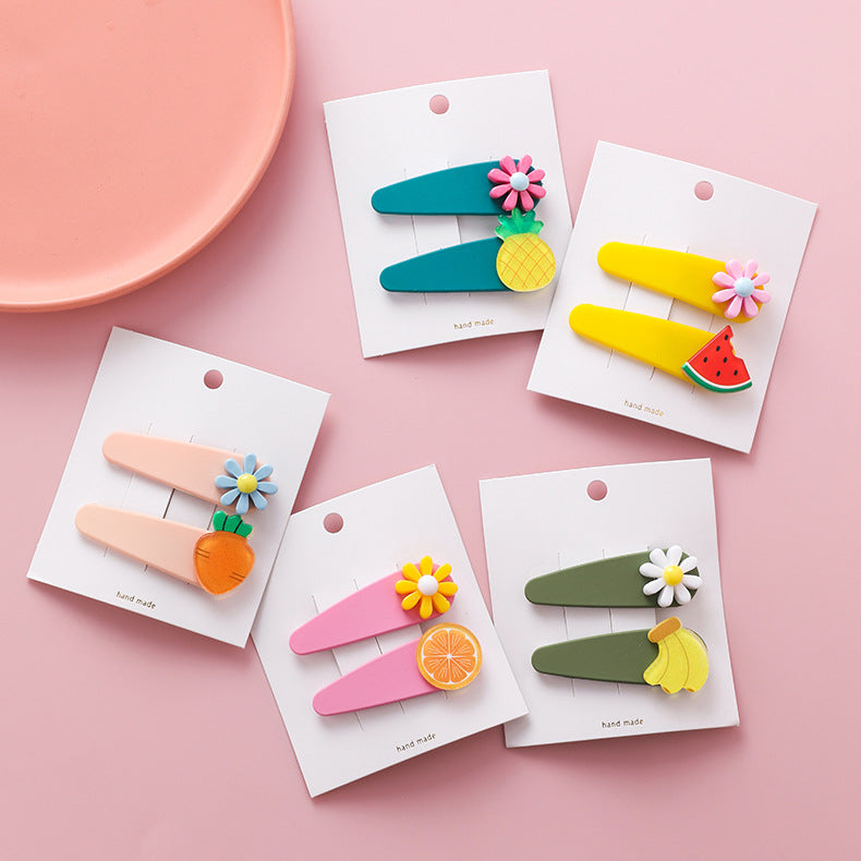 Fruits Hairpins