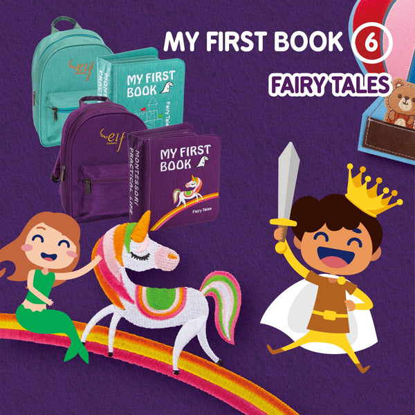 My First Book 6 - Fairy Tales (0-3Y)