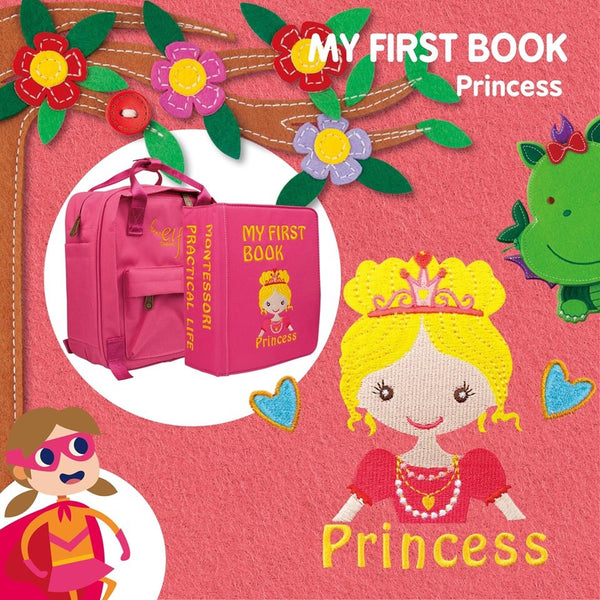 My First Book 7 - Princess (3Y+)