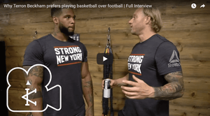 Why Terron Beckham prefers playing basketball over football | Full Interview