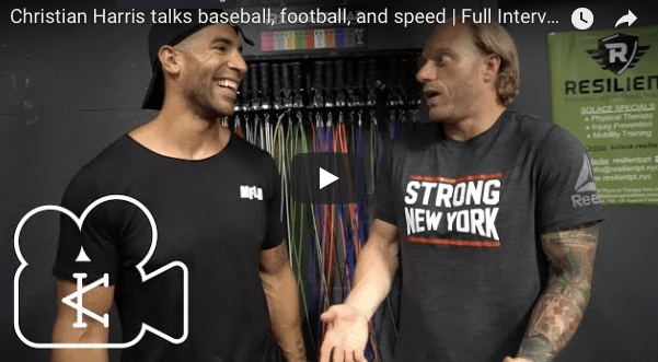 Christian Harris talks baseball, football, and speed | Full Interview