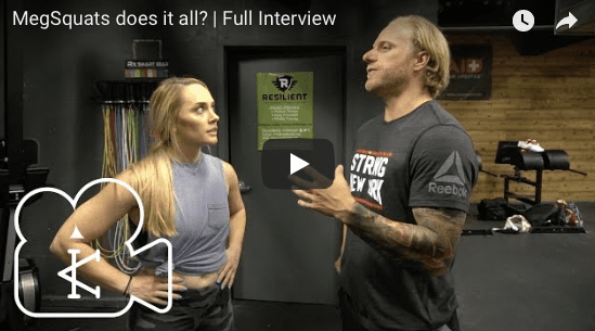 MegSquats on her experience being an all around college athlete | Full Interview