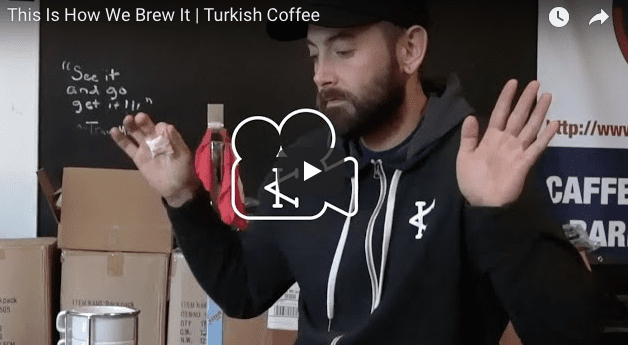 This Is How We Brew It  |  Turkish Coffee