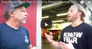 Tony Blauer Gives Tips On How to Protect Yourself In Dangerous Situations | Full Interview
