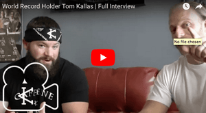 World Record Holder Tom Kallas | Full Interview