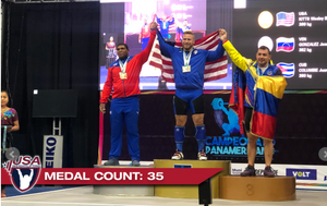 The C&K Athlete success continues at Pan Ams with Wes Kitts and D'Angelo Osorio