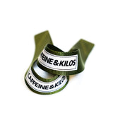 Caffeine and Kilos Inc Accessories Loop LIFTING STRAPS 3.0