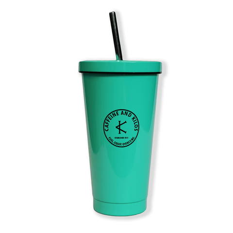 Caffeine and Kilos Inc Accessories TIFFANY TUMBLER