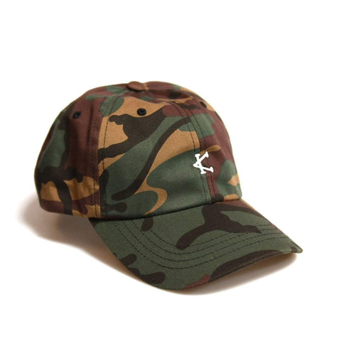Caffeine and Kilos Inc apparel MULTI CAMO DAD HAT