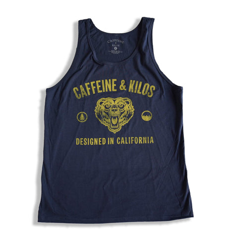 Caffeine and Kilos Inc apparel S CALI Mens Tank