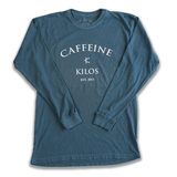 Caffeine and Kilos Inc apparel S Pigment Dyed Arch Logo Long Sleeve