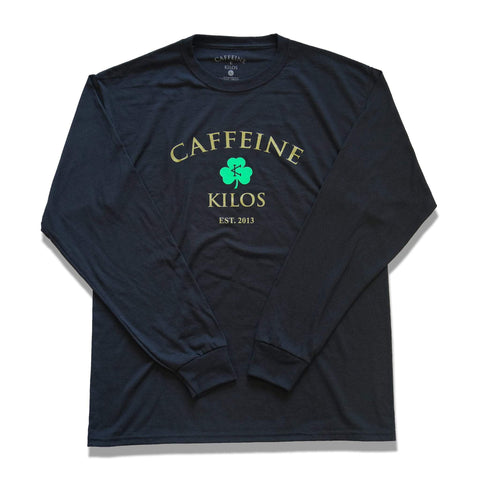 Caffeine and Kilos Inc apparel S Shamrock Longsleeve