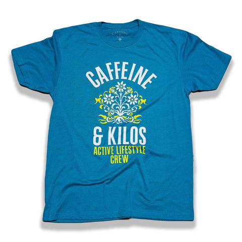Caffeine and Kilos Inc apparel XS Arched Floral Tee