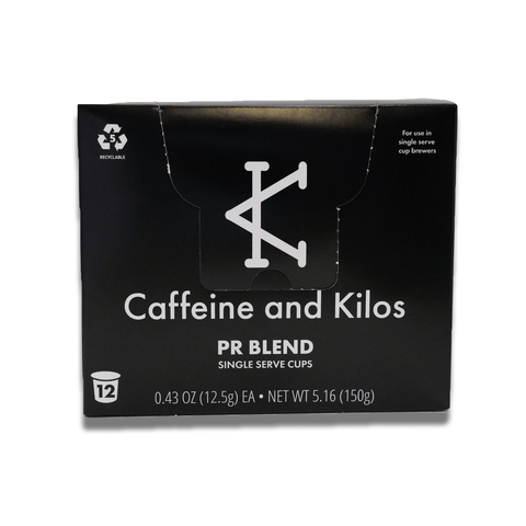 Caffeine and Kilos Inc Consumables PR BLEND CARTRIDGES