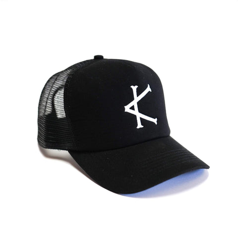 Caffeine and Kilos Inc Trucker Logo Hat