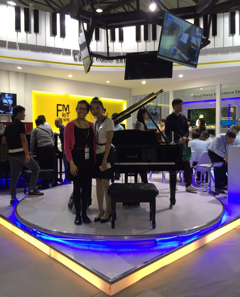 The Shanghai Music Show Carod Piano Booth
