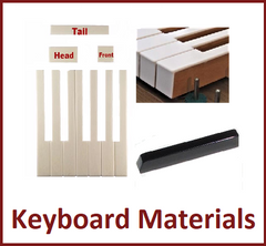 Piano Keyboard Material & Accessories