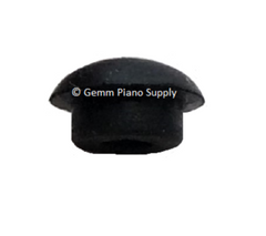 "Piano Cabinet Rubber Buttons/Bumpers 11/32"" Stem Dia. 7/16"" Head Dia. Black"