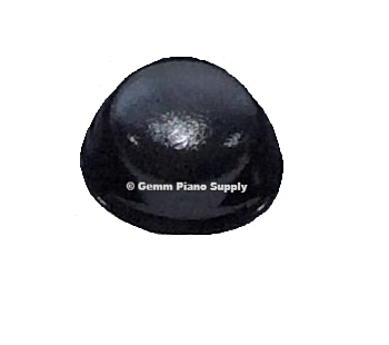 Piano Self Adhesive Buttons - Black