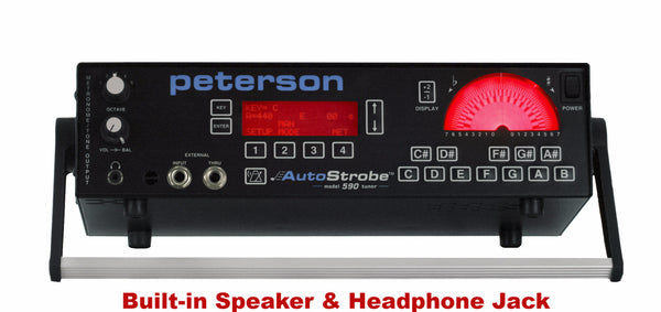 Peterson Electronic Tuner AutoStrobe 590