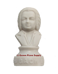 "Authentic Bach Composer Statuette, 4-1/2"" High"