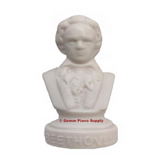 "Authentic Beethoven Composer Statuette, 4-1/2"" High"