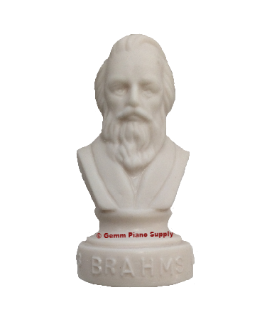 "Authentic Brahms Composer Statuette, 4-1/2"" High"