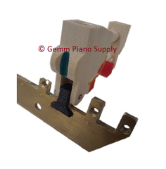 Piano Brass Rail Repair Clip Kit