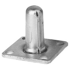 Piano Caster Socket, Square 1-1/2""