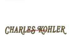 Charles Kohler Piano Fallboard Decal