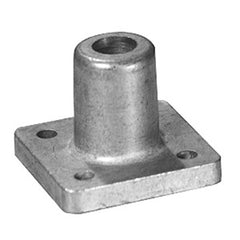 Piano Darnell Caster Socket, Square 1-13/16""