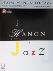 From Hanon to Jazz by Bert Konowitz - Piano Music