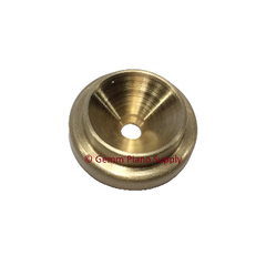 Grand Piano Lid Support Cup, Brass