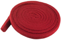 "Piano Hammer Butt Felt, Red (Medium) 7-1/2"" Wide"