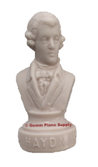 "Authentic Haydn Composer Statuette, 4-1/2"" High"