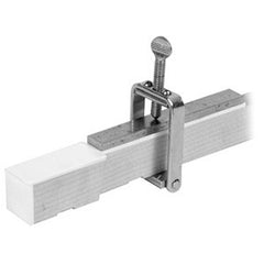 Piano Ivory Key Clamp with Tail Plate
