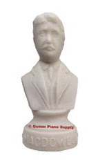 "Authentic Macdowell Composer Statuette, 4-1/2"" High"