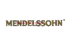 Mendelssohn Piano Fallboard Decal
