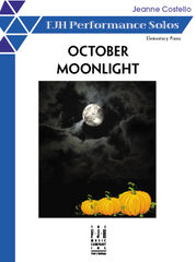 October Moonlight by Jeanne Costello - Piano Solo
