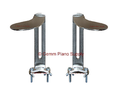 Piano Pedal Extensions, Pair (R & L)