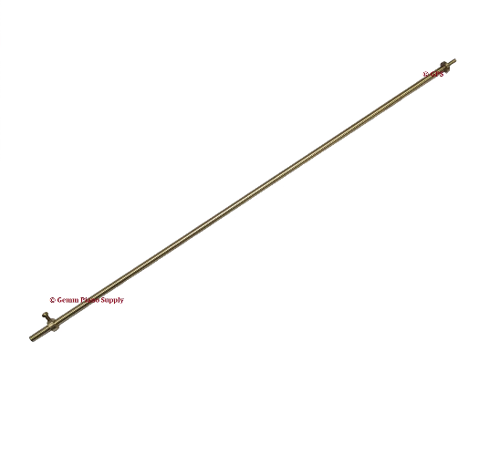 Piano Pedal Rod, Brass