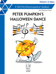 Peter Pumpkin's Halloween Dance by Peggy O'Dell - Piano Solo