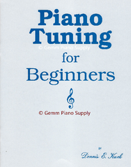 Piano Tuning For Beginners, Paperback by Kurk