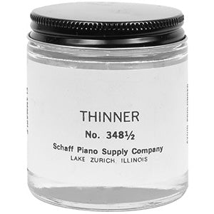 Piano Paint Thinner for Tuning Pin, 4 oz