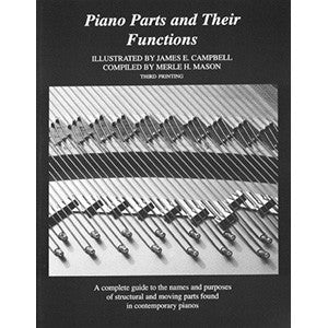 Piano Parts & Their, by Mason