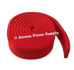 "Piano Tuning Wool Felt Temperament Strip .195"" Thick"